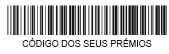 Código dos seus prémios - 003589864