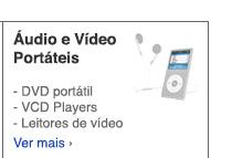 Áudio e Vídeo Portáteis