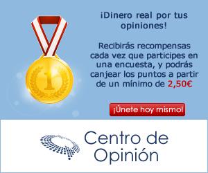 Encuestas remuneradas: Centro de Opinión