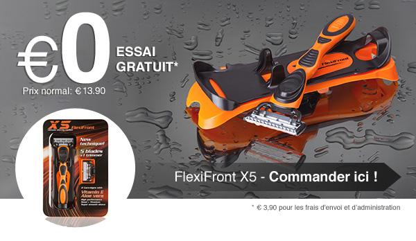 FlexiFront X5 - Commender ici >