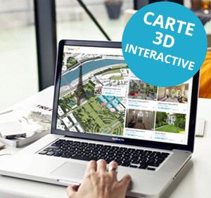 Carte 3D Interactive
