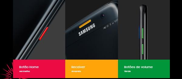 O Galaxy  Note7 traz um novo olhar sobre as possibilidades de um smartphone. A  começar pelo reconhecimento de íris e pela S Pen Inteligente  mais precisa e funcional já feita.