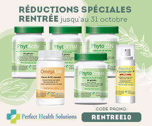 code promo perfect health solutions