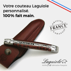 Laguiole, votre couteau personnalisé fait main