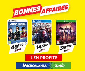 Pack Micromania : Consoles + 1 manette + 2 jeux offert