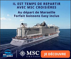 Croisières MSC aux Caraïbes