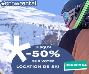 Réservez vos skis location de ski avec snowboard