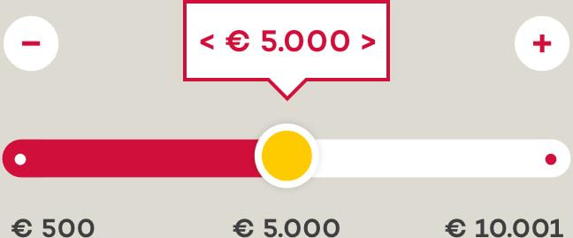 € 500 - € 10.001